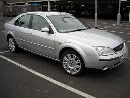 ford mondeo ghia x silver 2 litre petrol manual 51 2001 less than
