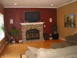 brown couch accent walls and accent wall colors accent wall ideas