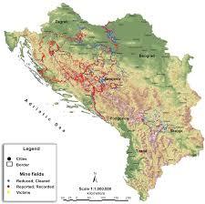 Bosnia Map Atlas Serbia Bosnia Map