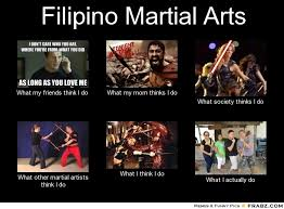 Filipino Meme - martial arts what people think i do meme