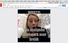 Google Images Meme - have students create meme s in google drawing teacher tech