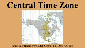 Time Zone Map Kentucky by Central Time Zone Youtube
