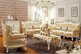 oak livingroom furniture luxury italian oak solid wood genuine leather sectional sofa set