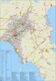 Athens Subway Map by Maps Of Athens Omega Rent A Car Offers Rent A Car Service And