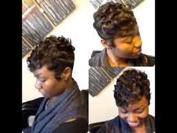 soft waves for short black hair how to wave short black hair youtube
