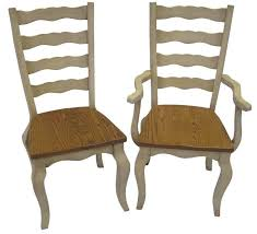 French Country Chair Cushions - french country dining room chairs amish hartford french country