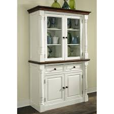 buffet with hutch keaton french white decorating ideas kitchen