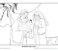 abraham and isaac coloring page 45 best abraham images on pinterest bible stories bible crafts