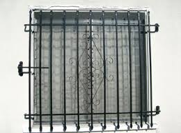 iron security window bars grates grills los angeles county ca