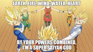 super saiyan god ritual imgflip