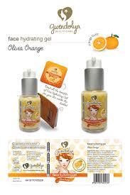 gwendolyn face hydrating gel olivia orange elevenia