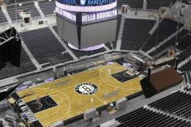 barclays center opens as brooklyn has a pro team again via new