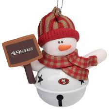 christmas gifts for 49ers fans san francisco 49ers holiday decorations 49ers santa hats gift bags