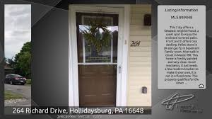 264 richard drive hollidaysburg pa 16648 youtube
