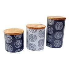 kitchen canisters blue blue kitchen canisters jars you ll wayfair