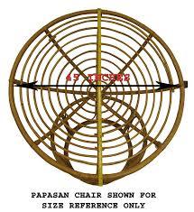 amazon com cotton craft papasan chair cushion black pure 100