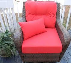 Red Patio Chair Cushions 41 Best Patio Chair Cushions Images On Pinterest Patio Chairs