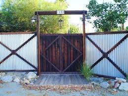 Gate For Backyard Fence Best 25 Metal Fence Gates Ideas On Pinterest Metal Fence