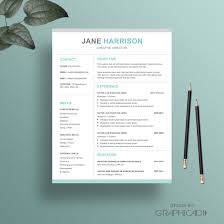 resume and matching cover letter templates