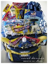 healthy snack gift basket custom loser gift basket this rolling bag cooler is stuffed