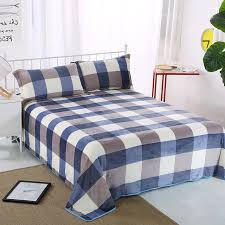 breathable sheets aliexpress com buy the new checkered pattern bed sheets