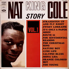 nat king cole christmas album the nat king cole story vol 1 by nat king cole lp with jajar
