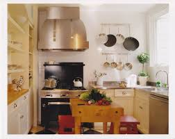 home design open shelving and range hood in eclectic kitchen