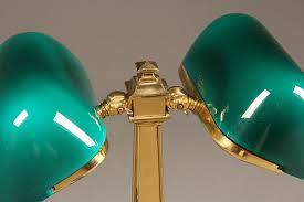 Antique Double Desk Lamp Double Emeralite Desk Lamp