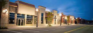 commercial building outside lighting commercial indoor and outdoor lighting installation and repair