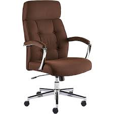 staples townsen fabric home office chair brown staples