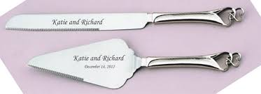 cake knife and server cake knife server