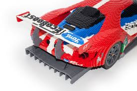 lego ford mustang lego ford gt race car goes on display in le mans