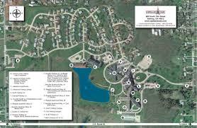Warren Ohio Map by Campus Copeland Oaks