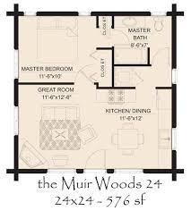 muir woods 24 log home floor plan jpg 600 665 pixels dream homes