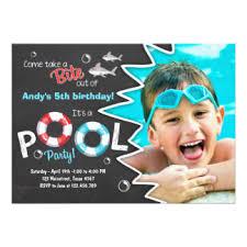 shark birthday invitations u0026 announcements zazzle
