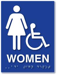 Bathroom Symbols Premium Ada Restroom Signs Braille Bathroom Signs Unisex