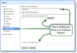 google sites adds picasa integration feeds and custom templates