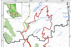Wildfire Map Of Bc by Aug 14 Elephant Hill Fire Did Not Grow Today 100 Mile House