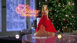 2014 holiday barbie doll commercial youtube