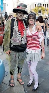 Zombie Family Halloween Costumes by Photos Denver Zombie Crawl 2016 Brings Fright To Life On The