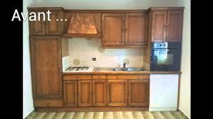 renovation cuisine rustique charmant relooker cuisine rustique avant après et renovation