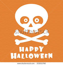 happy halloween grungy rubber stamp ghost stock vector 153587663
