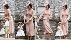 Pippa Wedding Kate Middleton Pretty In Alexander Mcqueen Dress At Her Sister