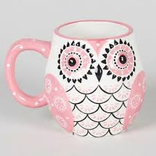 owl mug painted owl mug 10 8cm matalan from matalan mugs