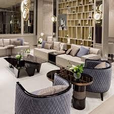 modern italian designer modular sofa with integrated table