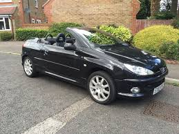 peugeot convertible 2016 peugeot 206 cc convertible hard top black hpi clear in uxbridge