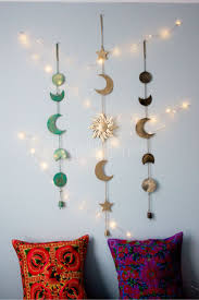 moon phases wall hanging decor wall hanging decor star wall and