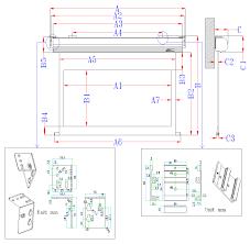 saker series electric screens wall ceiling elite screens