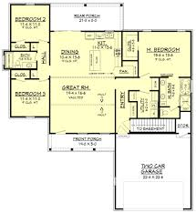 stoney creek house plan house plan zone stoney creek basement stair location