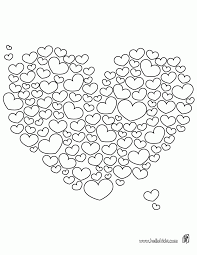 valentines day heart coloring page cute coloring